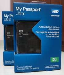 2T  WD MY PASSPORT ULTRA