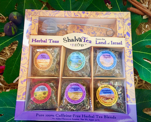 ShalvaTea Premium Gift Box Set