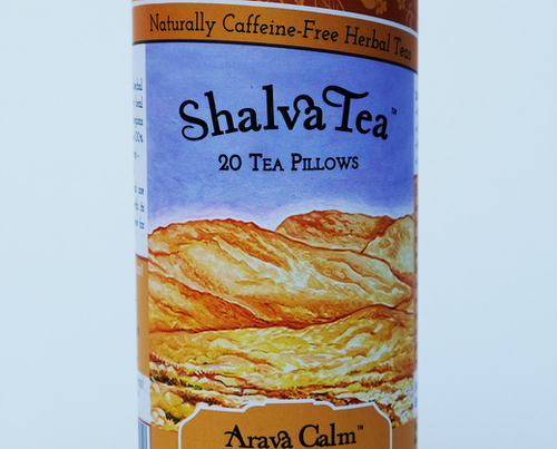 Arava Calm, Tins with 20 Tea Pillows