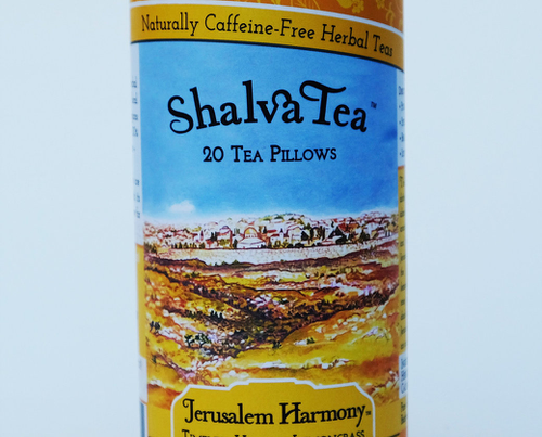 Jerusalem Harmony, Tins with 20 Tea Pillows