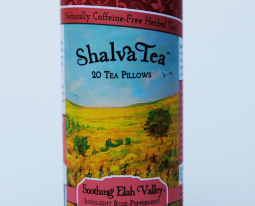 Soothing Elah Valley, Tins with 20 Tea Pillows