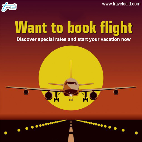 Book International Flights on Traveloaid