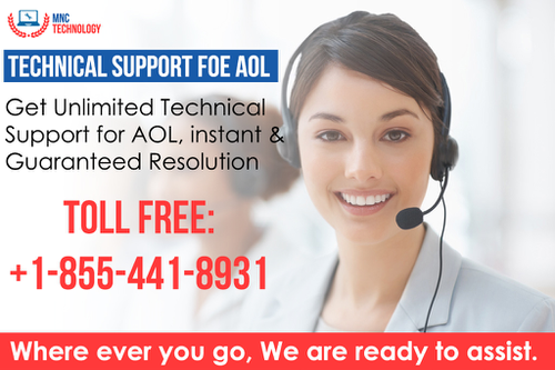 AOL Helpline Number +1-855-441-8931